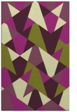 rug #1147475 |  purple retro rug