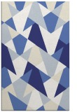 rug #1147527 |  blue graphic rug
