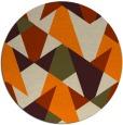 rug #1147599 | round beige retro rug