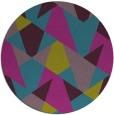 rug #1147679 | round pink retro rug