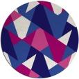rug #1147699 | round blue-violet rug
