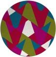 rug #1147722 | round retro rug