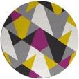 rug #1147787 | round graphic rug