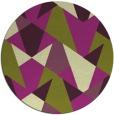 rug #1147845 | round graphic rug