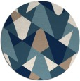 rug #1147909 | round graphic rug