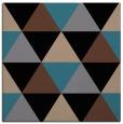 rug #1148351 | square black retro rug