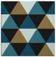 rug #1148363 | square black retro rug