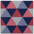 rug #1148427 | square blue-violet geometry rug