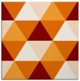 rug #1148547 | square orange popular rug
