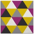 rug #1148659 | square white geometry rug