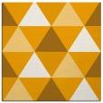 rug #1148687   square light-orange geometry rug