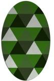 rug #1148843   oval light-green rug