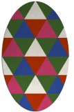 rug #1148897 | oval geometry rug