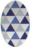 rug #1148999 | oval white popular rug