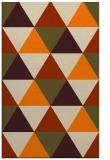 rug #1149071    orange retro rug