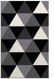 rug #1149075 |  black geometry rug