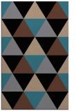 rug #1149087 |  brown retro rug
