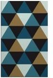 rug #1149099 |  mid-brown retro rug