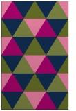rug #1149115    blue geometry rug