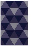 rug #1149155 |  blue-violet retro rug