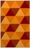rug #1149279    orange retro rug