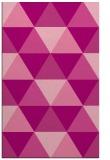 rug #1149295    pink retro rug