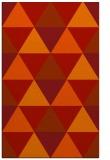 rug #1149331 |  red retro rug
