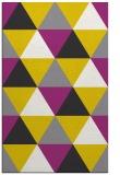 rug #1149395 |  yellow geometry rug