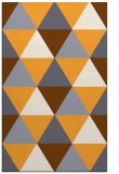 rug #1149435 |  light-orange retro rug