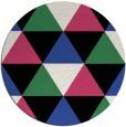 rug #1149642 | round retro rug
