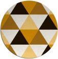 rug #1149739 | round brown popular rug
