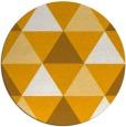 rug #1149791 | round light-orange geometry rug
