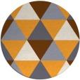 rug #1149803 | round light-orange rug