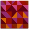 rug #1150443 | square red geometry rug