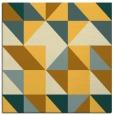 rug #1150503   square light-orange popular rug