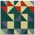 rug #1150507   square yellow geometry rug