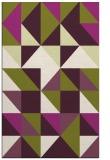 rug #1151155 |  purple geometry rug