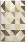 rug #1151231 |  yellow geometry rug