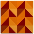 rug #1152223 | square orange rug