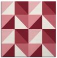 rug #1152243   square pink retro rug
