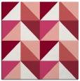 rug #1152251 | square white retro rug