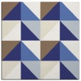 rug #1152311 | square blue abstract rug
