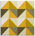 rug #1152331 | square yellow abstract rug