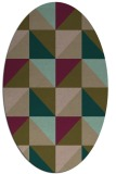 rug #1152495 | oval rug
