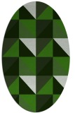 rug #1152523 | oval light-green rug