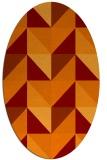 rug #1152591 | oval flags rug