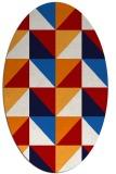 rug #1152639 | oval red popular rug