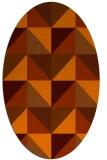 rug #1152656 | oval geometry rug