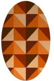 rug #1152660   oval abstract rug