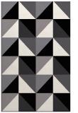 rug #1152755 |  white abstract rug